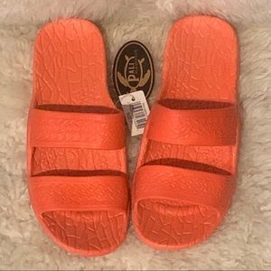 NWT Pali Hawaii Pink Jandals Slip On Jesus Sandals